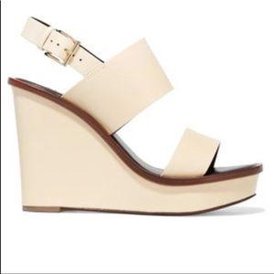 Tory Burch ivory Lexington sandals 7.5